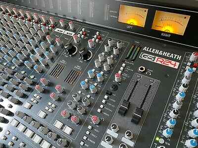 Allen And Heath Mixing Desk GS-R24 With Valves Analogue Mixer + RPS15 PSU • 2,999£