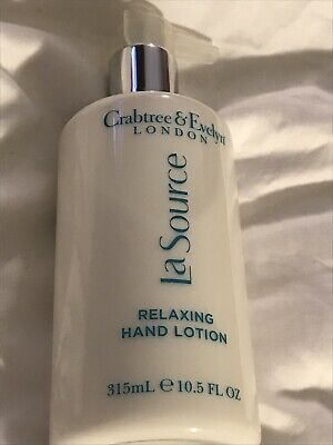 Crabtree & Evelyn La Source. Relaxing Hand Cream. 315ml. New • 12.99£