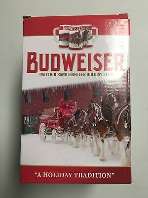 $ CDN19.71 • Buy Budweiser 2018 Clydesdales Holiday Stein, 31-ounce Boxed With COA