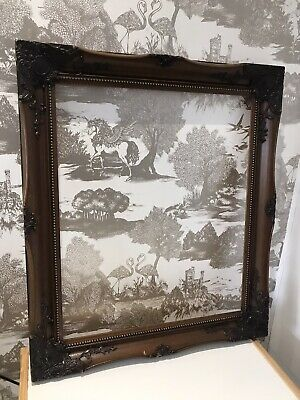 Quality Antique Striking Rococo Baroque Vintage Ornate Two Tone Picture Frame • 29.99£