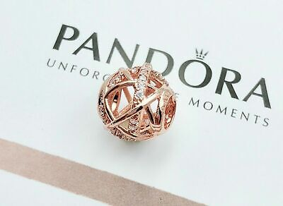 New Genuine Pandora Charm Bead 781388CZ Rose Galaxy Openwork S925 ALE GIFT • 13.79£
