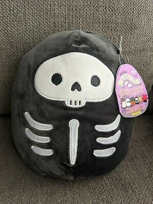 $ CDN30 • Buy Squishmallows 8  Inch Halloween Exclusive Stix Skeleton Skull Fall 2020 BNWT New