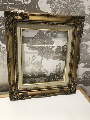 Quality Antique Striking Rococo Baroque Vintage Ornate Gold Gilt Picture Frame • 22.99£