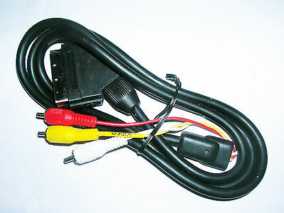 £3.50 • Buy Scart In To 3 Phono Triple RCA Video Audio AV 5  Mtr Cable Lead