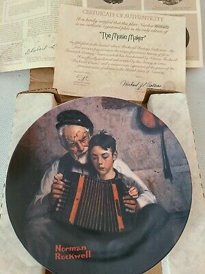 $ CDN75 • Buy Lot Of Norman Rockwell Museum Collectible 8-5/8  Plates 1980-81