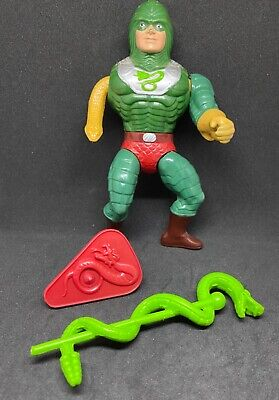$16.99 • Buy He-man Masters Of The Universe MOTU Vintage King Hiss Figure Weapons Rare