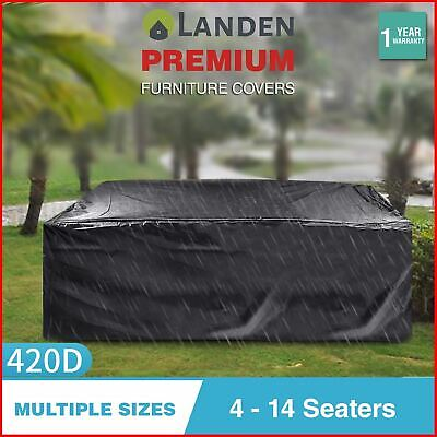 AU34.99 • Buy Landen Outdoor Furniture Cover Waterproof Patio Garden Table Rain Chair Lounge