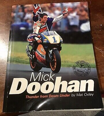 AU100 • Buy Rare Signed Mick Doohan Thunder From Down Under Book