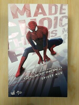 $ CDN421.30 • Buy Hot Toys MMS 244 The Amazing Spiderman Spider-Man 2 Figure Normal Version USED 2