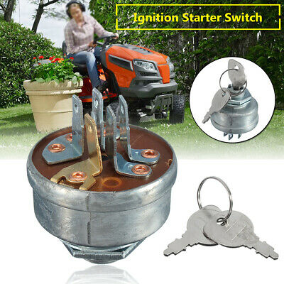 Ignition Starter Switch + Keys For MTD 725-0267A Husqvarna Ride On Tractor  • 9.90£