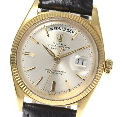 $ CDN8664.43 • Buy ROLEX K18YG Oyster Perpetual Day Date 1803 Cal.1555 Automatic Men's Watch_557469