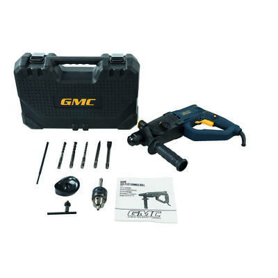 GMC 800W SDS Plus Hammer Drill With Case And Accessories 3 Year Guarantee  • 65.99£