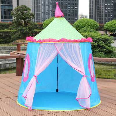47  Kids Play Tent Outdoor Garden Play House Teepee Fairy Castle Princess Tents • 16.48£