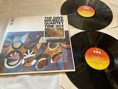 The Dave Brubeck Quartet  Time Out/ Time Further Out  2 X Vinyl LP CBS UK EX • 19.99£