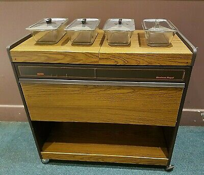Ekco Hostess Royal Heated Serving Trolley Food Warmer Dishes  Collect Cf62 • 84.99£