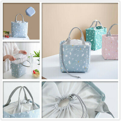 AU7.95 • Buy Thermal Insulated Cooler Picnic Work School Foil Lunch Bag Shopping Carry Bags