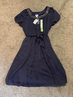 AU32.28 • Buy NWT! Motherhood Maternity Special Occasion Dress - Size Large