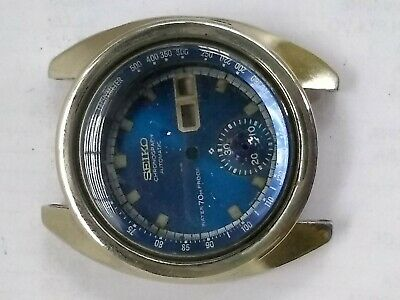 $ CDN60 • Buy Parts Vintage Seiko Chronograph 6139 6010 For Sale Restoration Project