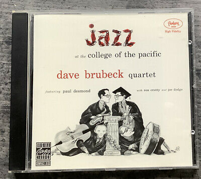 Dave Brubeck Quartet / Jazz At The Collage Of The Pacific Cd • 2.99£