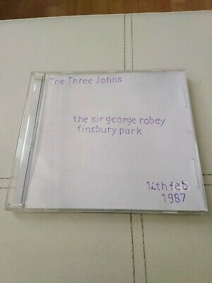 The Three Johns Live In London 14 /2/1987 Cd • 6£