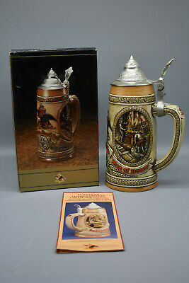 $ CDN46.66 • Buy Anheuser-Busch Lidded Stein Limited Edition Collection, No. 49124- A Series