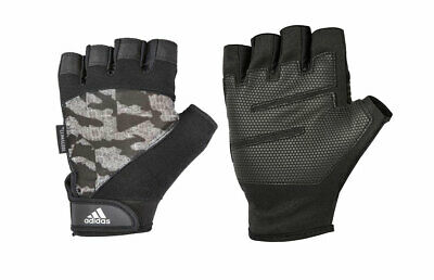 £14.99 • Buy Adidas Gloves Mens Performance Climacool Training Weight Lifting Black Camo