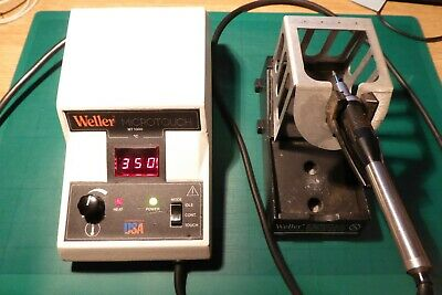 Weller MT1000 MT1000D Microtouch Soldering Station Iron Stand With Eleven Tips • 50£