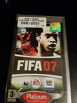 PSP - FIFA 07 (2007) New  Sealed  UK Stock • 4.90£