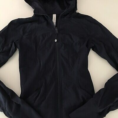 $ CDN19.73 • Buy Lululemon In Flux Jacket Womens Size 4 Navy Blue Perfect Condition