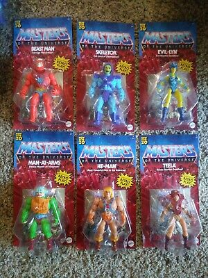 $29 • Buy Masters Of The Universe 2020- He-Man, Skeletor, Beast Man. New And Unpunched