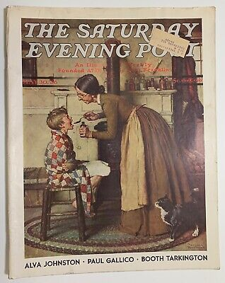 $ CDN13.41 • Buy Saturday Evening Post Norman Rockwell Cover 1936 May 30