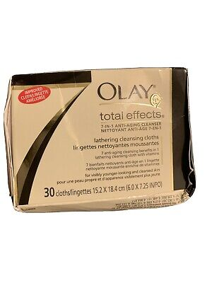 $22.99 • Buy Olay Total Effects 7 In One Anti Aging Cleanser Lathering Cloths