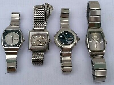 $ CDN113.96 • Buy (lot Of 4) Vintage Seiko 2206 And 2706 Hi-beat Tv Working Ok