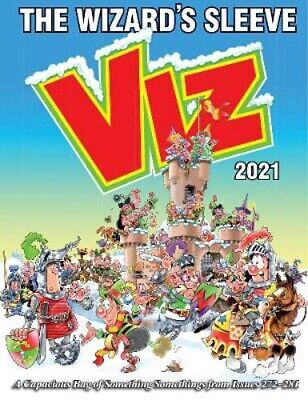 Viz Annual 2021: The Wizard's Sleeve: A Rousing Blast From The Pages Of Issues 2 • 10.89£