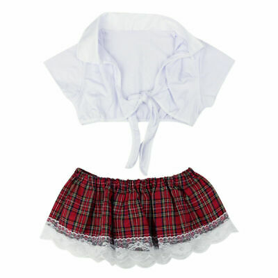 Sexy Women's Secretary Uniform Lingerie Halloween School Girl Outfit Costume • 6.79£