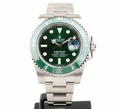 $ CDN28506.81 • Buy New Rolex 116610LV Submariner Steel Green Dial Watch 2019 FACTORY SEALED