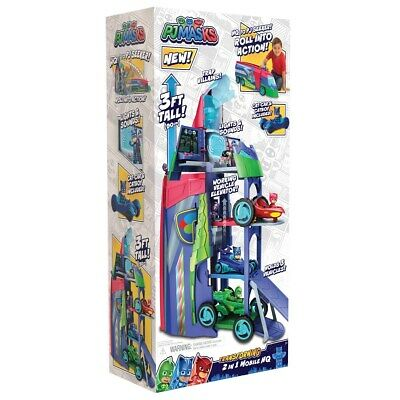 PJ Masks 2 In 1 Mobile HQ Playset [Toy] • 69.99£