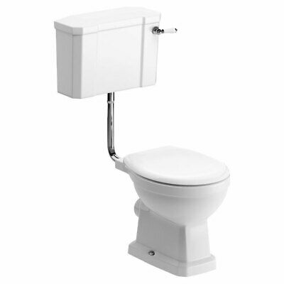 £273.95 • Buy Signature Aphrodite Low Level Toilet With Lever Cistern - Soft Close Seat