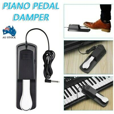 AU19.68 • Buy Piano Damper Sustain Pedal Foot Switch For Electric Yamaha Casio Roland Keyboard