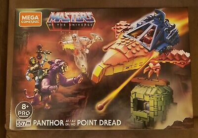 $49 • Buy Mega Construx Masters Of The Universe MOTU Panthor At Point Dread IN HAND!!