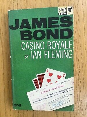 Ian Fleming's CASINO  ROYALE James Bond Pan Paperback 15th Printing 1963  Good • 10£