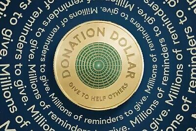 AU4.99 • Buy * 2020 DONATION DOLLAR Coin By RAM Uncirculated  1st Release From Bag *