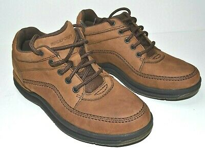 Rockport World Tour Classic Men's SIZE 8.5 UK WIDE Comfort Casual Walking Shoes • 24.99£