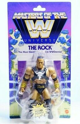 $40 • Buy MOTU - Masters Of The WWE Universe - The Rock Wave 3