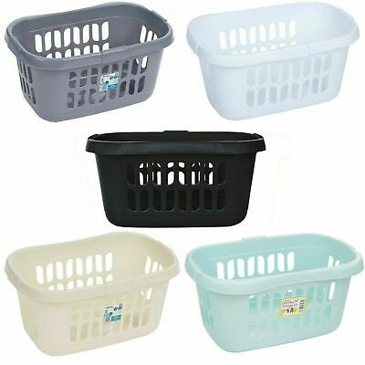 £8.99 • Buy Wham Plastic Hipster Style Storage Basket Washing Clothes Linen
