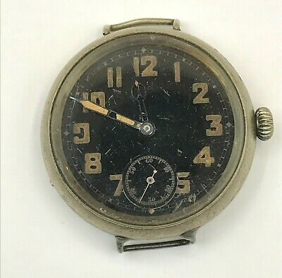 $ CDN50 • Buy Old Vintage Military Trench Watch For Parts Or Repair