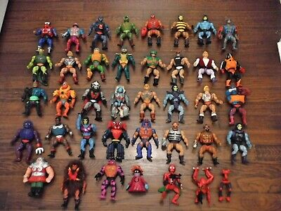 $100 • Buy Vintage He Man Masters Of The Universe MOTU Figures Lot And Weapons Mattel