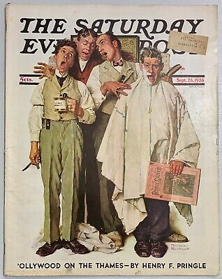 $ CDN13.41 • Buy Saturday Evening Post Norman Rockwell Cover 1936 September 26