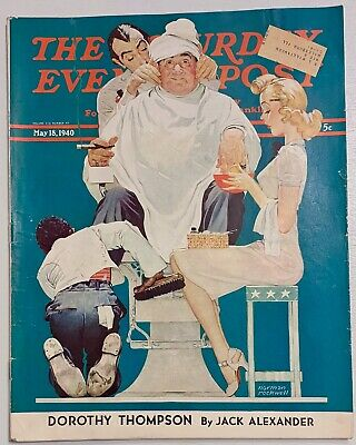 $ CDN14.08 • Buy Saturday Evening Post Norman Rockwell Cover 1940 May 18