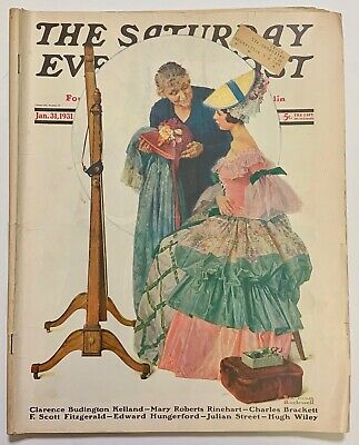 $ CDN13.41 • Buy Saturday Evening Post Norman Rockwell Cover 1931 January 31